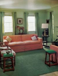 Edward Dubles living room 1949 | 1940- 1950 FURNITURE ...