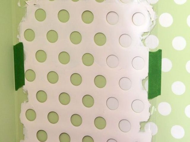 Image result for polka dot laundry basket wall