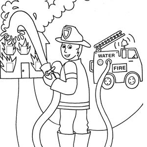 Free printable people coloring pages. I use these in