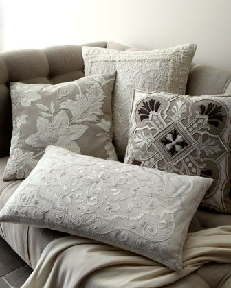 "Beautiful GREY Pillows ""Aura"" Pillow Group By Callisto Home At"