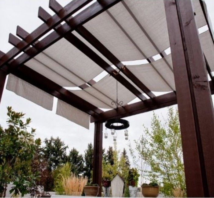 Pergola and Patio Covers Freestanding But Protected