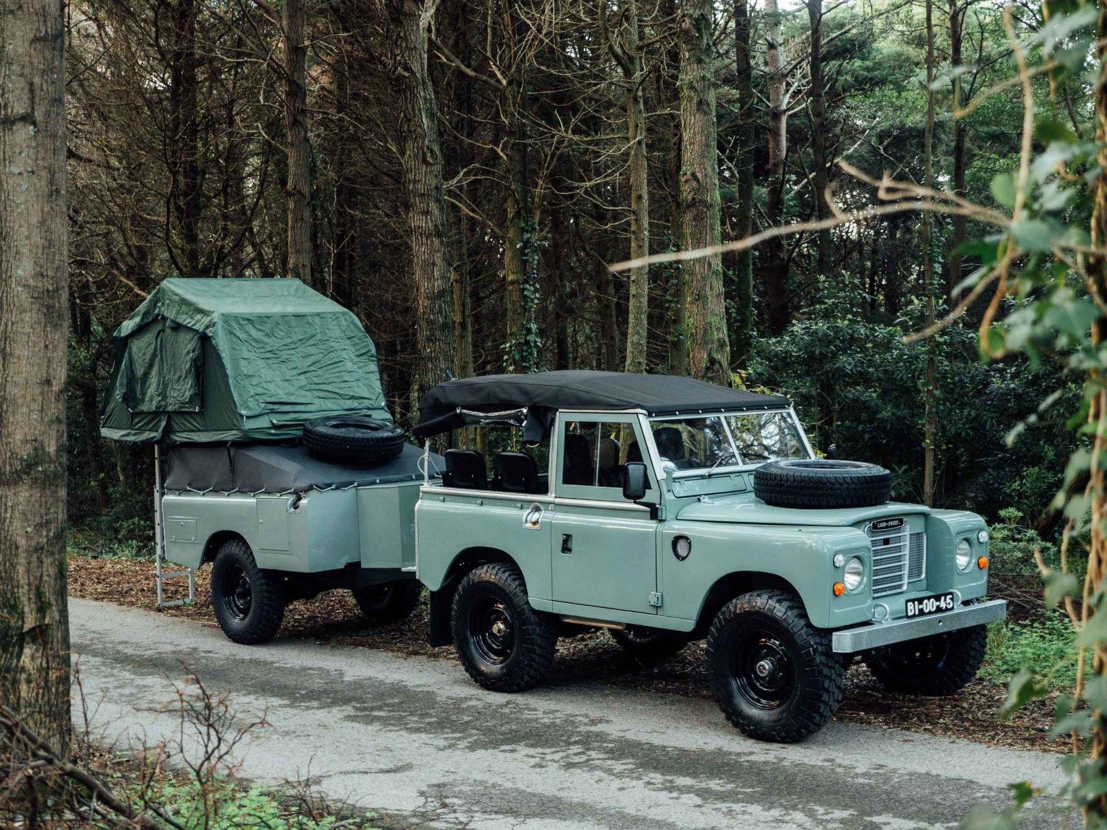 Land Rover Series III Adventure Rig