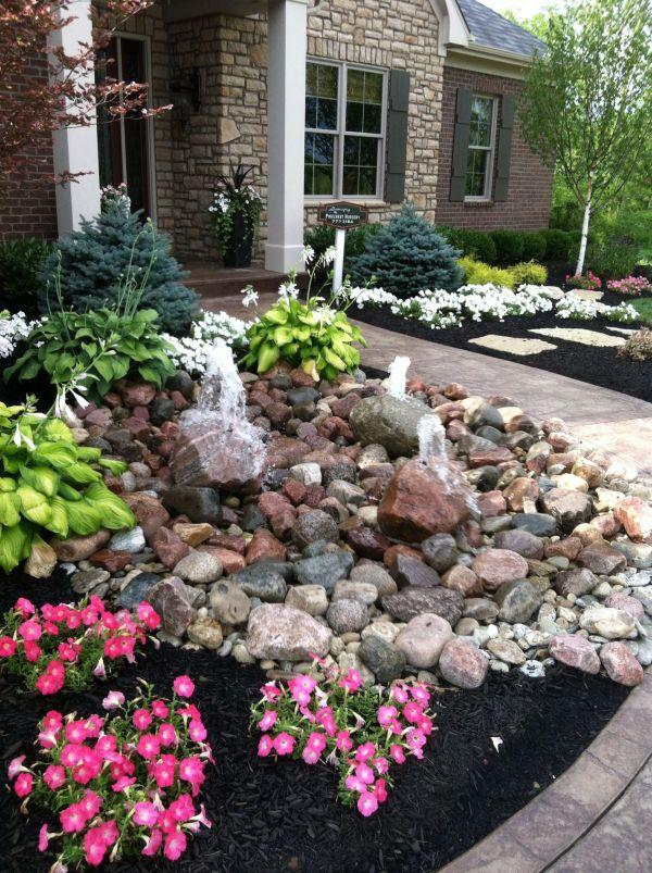 rockscape landscape front yard