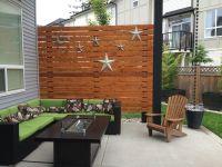 """Cedar Patio Privacy Wall 5/4x6"""" cedar deck boards lag ..."""