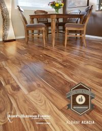Albany Acacia hardwood flooring. A great contrast to ...