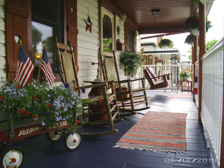 primitive decorating ideas for living room wooden chair design best 25+ country front porches on pinterest | stone ...