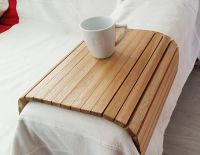 Sofa tray, Wooden tray, Flexible chair tray, Wooden TV ...