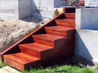 Marvelous Outdoor Wooden Stairs #13 Building Wooden Steps ...