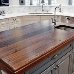 Wood Kitchen Counters Decorate Distressed Black Walnut Heritage By Artisan Stone