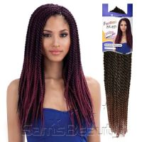 FreeTress Synthetic Hair Crochet Braids Senegalese Twist ...