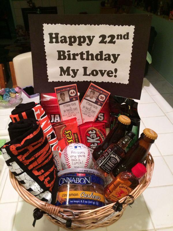 Birthday Gift Basket Ideas For Boyfriend