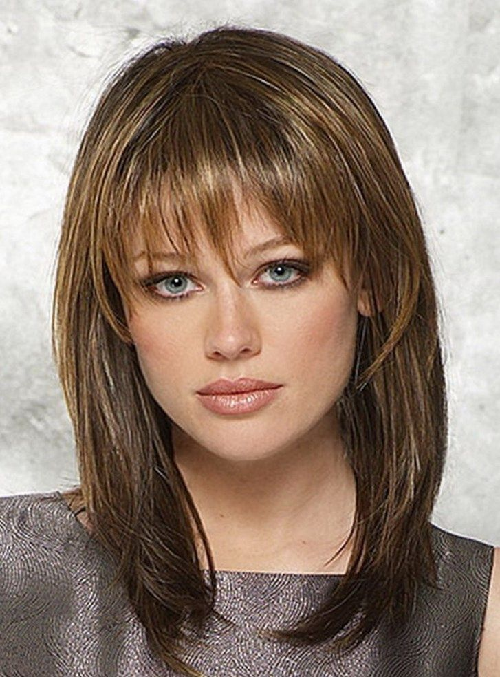 23 Gorgeous Medium Hairstyles With Bangs 2017 Medium Hairstyles
