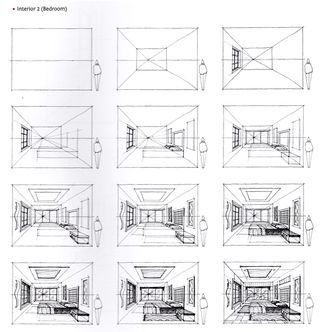How to Draw a Bedroom from the Book, Sketching Masterclass
