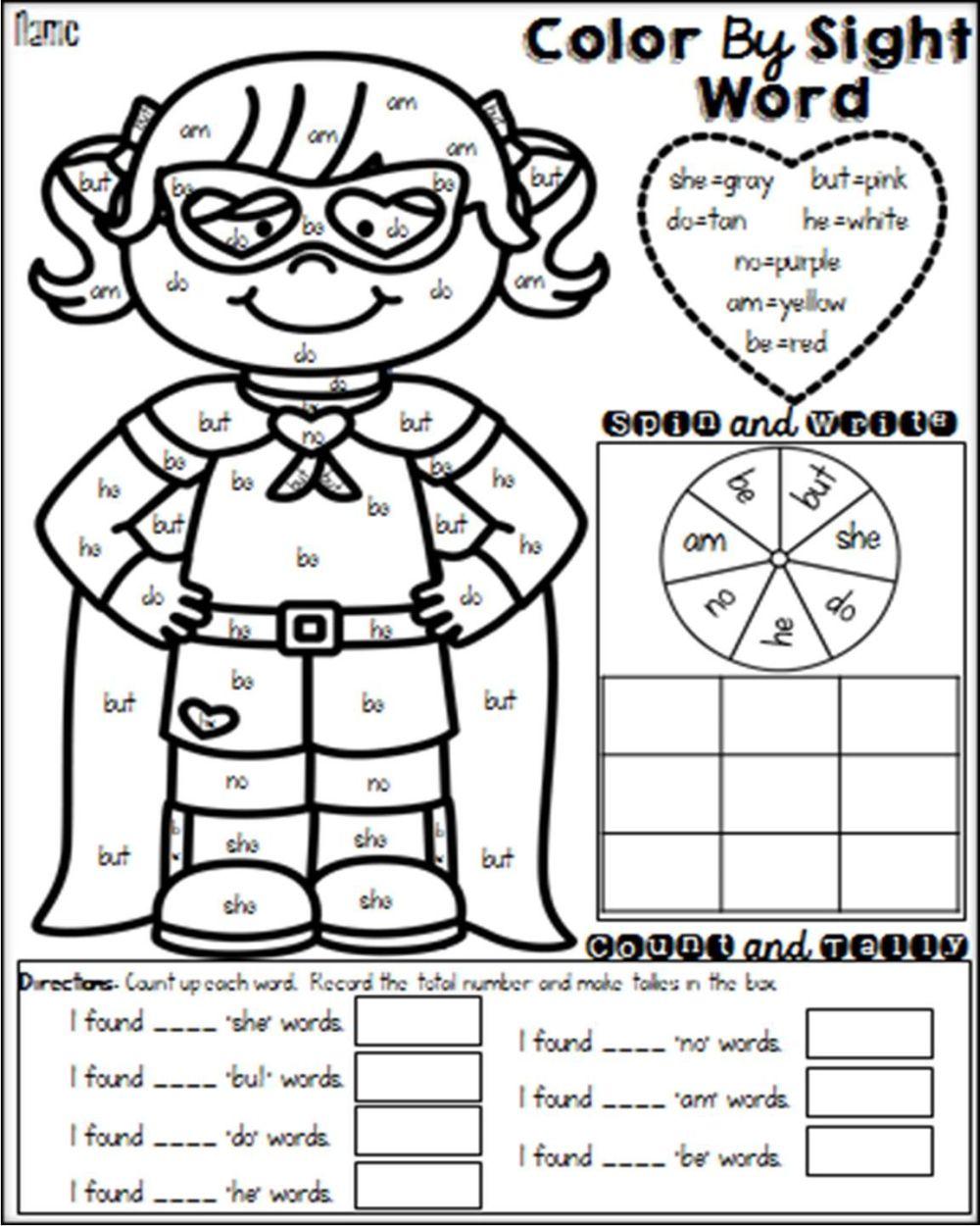 medium resolution of 2nd Grade Sight Words Worksheets