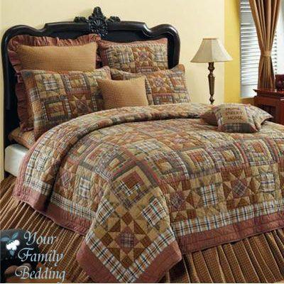 Details About Antique Country Primitive Star Twin Queen King Size Quilt Cotton Bedding Set