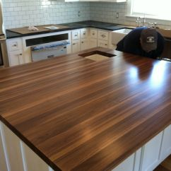John Boos Kitchen Island Lighting Melbourne This Is The Walnut Butcher Block That My ...