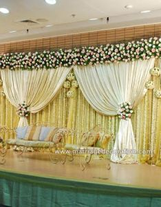 flower decoration for wedding stage in chennai