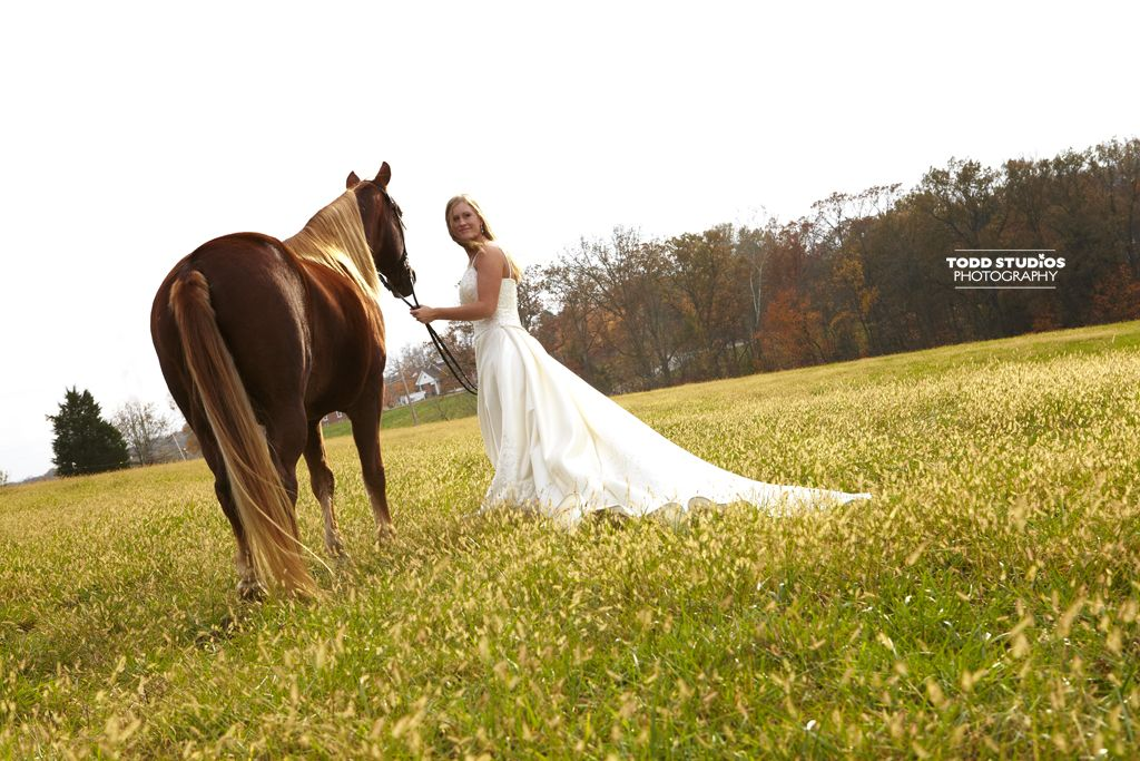I Want A Picture With My Horse On My Wedding Day