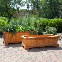 Patio Planters Ideas Plastic