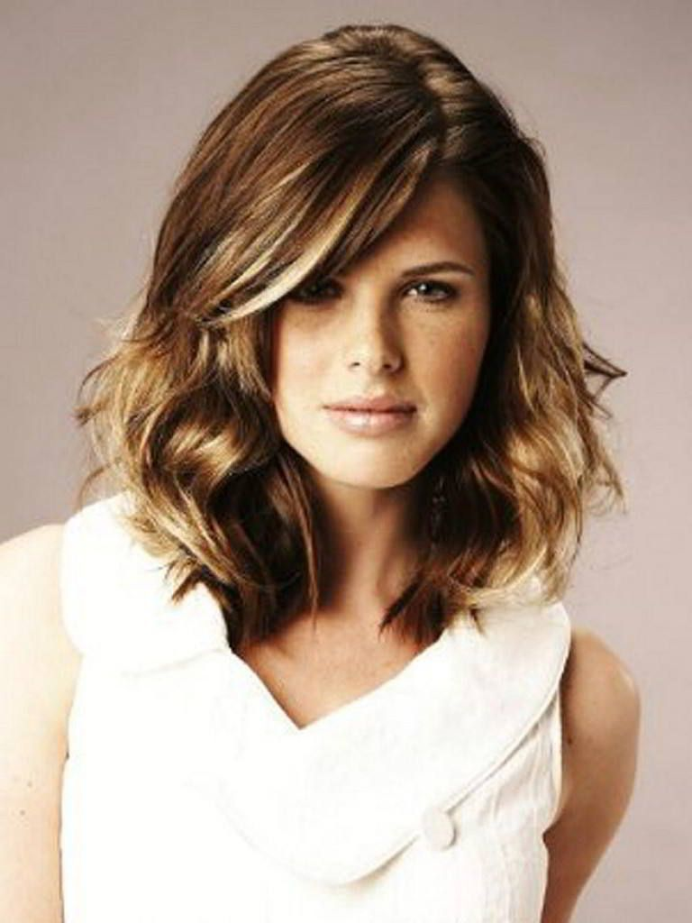 Short Hairstyles For Oval Faces With Wavy Hair Oval Faces Wavy