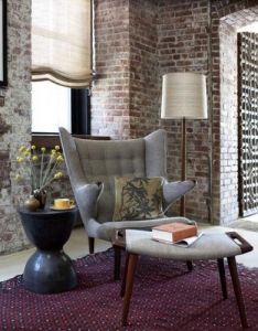 Modern also such  lovely sitting area and the wegner papa bear chair doesn   rh pinterest