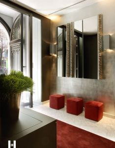 Epitome of cool glamour the hotel murmuri in barcelona designed by kelly hoppen interiors foyer ideashome decor ideasdesign also rh pinterest