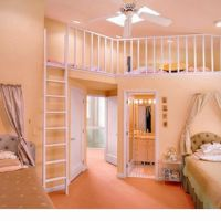 kids bedrooms with lofts | Kids room with loft. Loft could ...