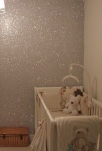 Glitter Wall Paint Diy