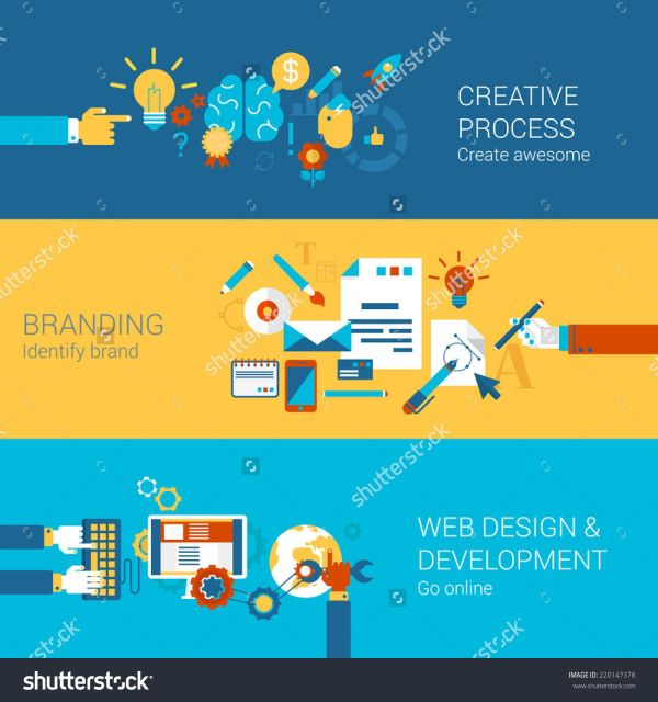 Creative Process Branding Web Design Development