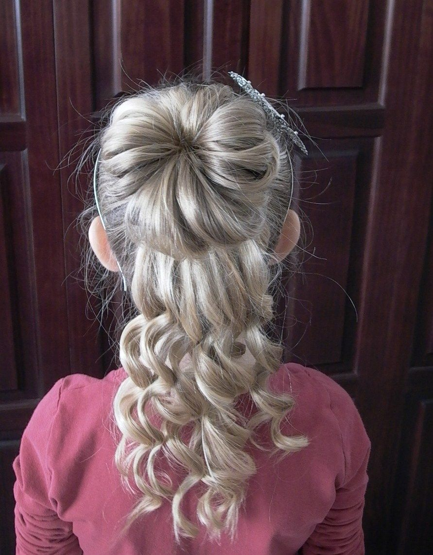 Updos Tutorial Videos Bun Curly Updo Video Tutorial 891x1140