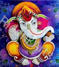 Ganesha quilling.......   Quilling-Paper Art   Pinterest ...
