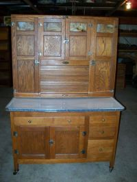 """Antique Oak Sellers 48"""" Hoosier cabinet refinished and ..."""