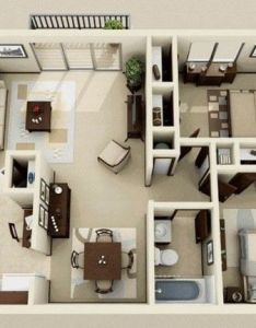 two bedroom apartment house plans also bedrooms floor plan pinterest rh