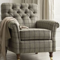 Country Plaid Sofa Sets Sectional Grey Tweed Chair Beautiful Home Pinterest Armchairs