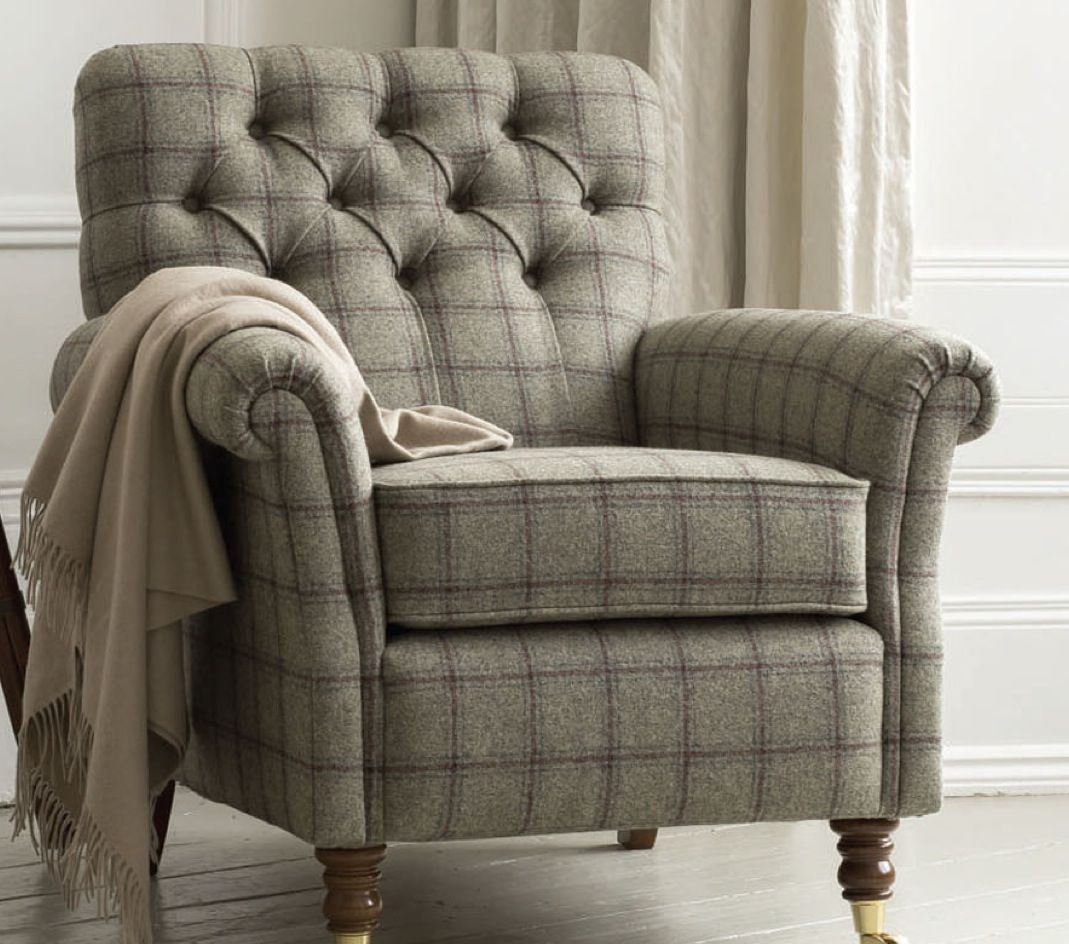 Tweed Chair Tweed Chair Beautiful Home Pinterest Armchairs