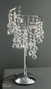 Swarovski Crystal Table Lamp