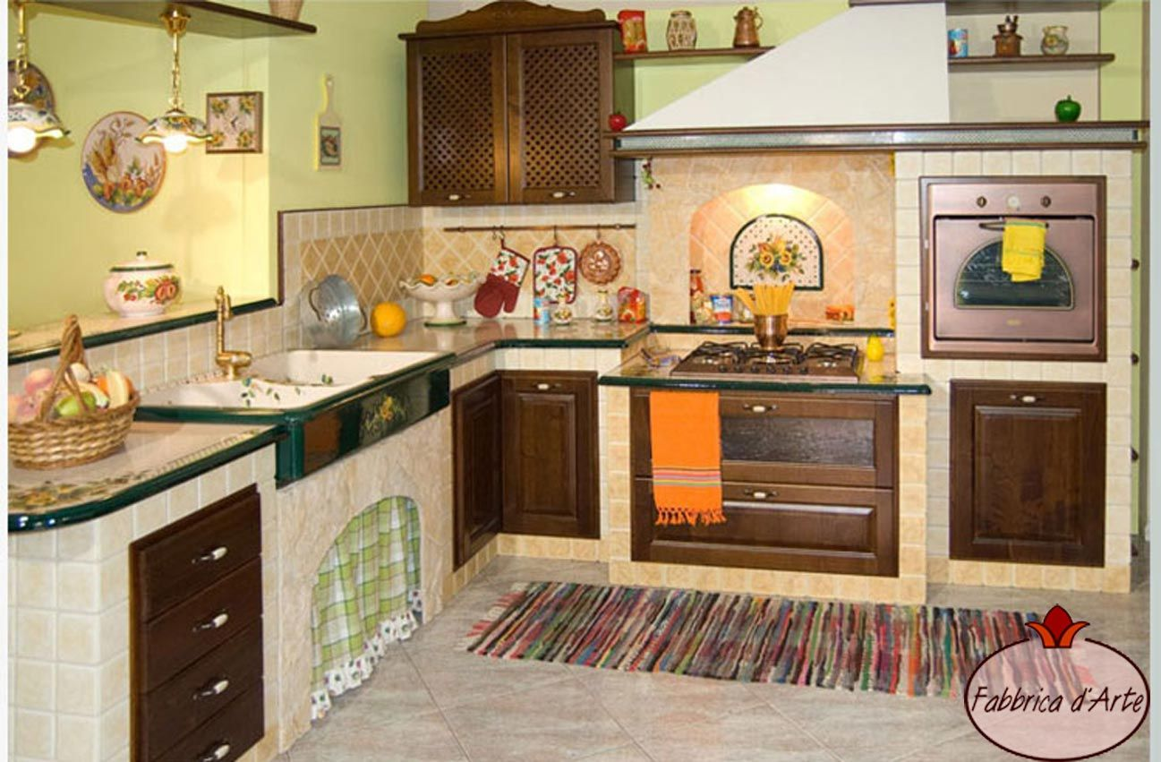 Piastrelle cucina vietri piastrelle con decoro molina in
