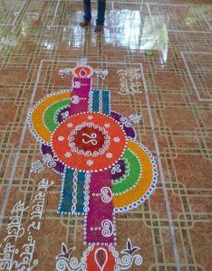 Rangoli also dotted kolam patterns design and diwali rh za pinterest