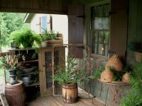Decorating A Country Porch on Pinterest