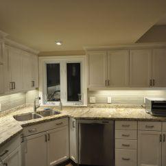 Under Cabinet Kitchen Lighting Prefab Outdoor Rab Design 39s Led Strip Lights Install For