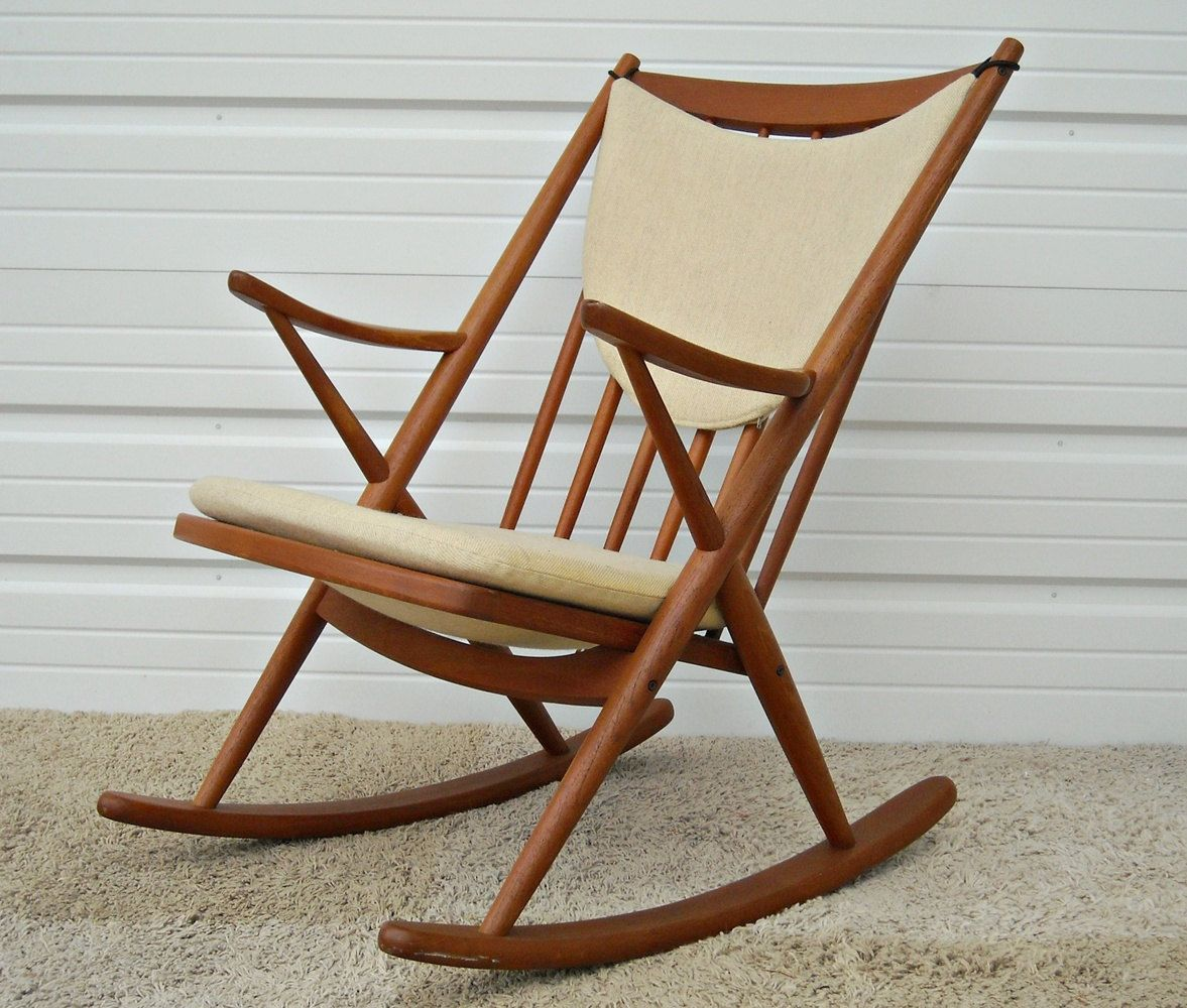 Rocky Chair Love Love Love Danish Modern Rocker Bramin Mobler