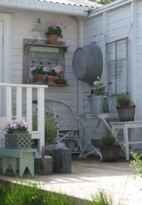 Husfruas Memoarer | farmhouse porches... | Pinterest ...