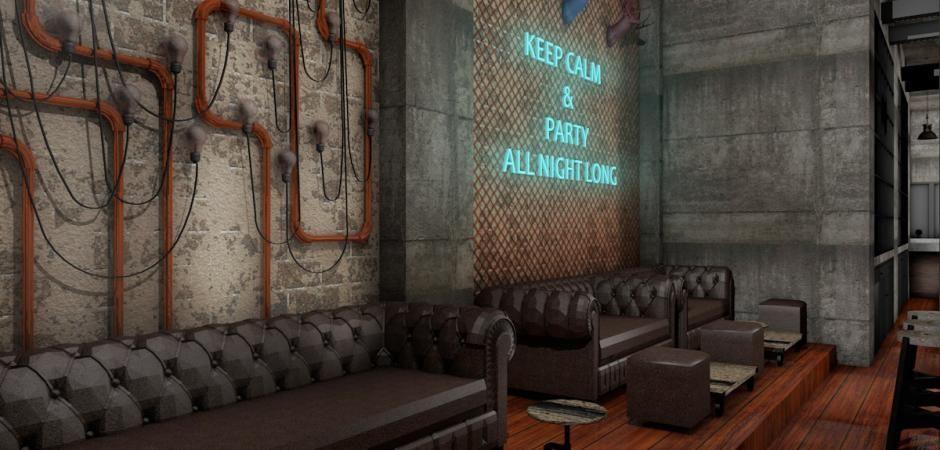 Industrial Interior Design Bar - Google Search
