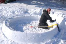 Learn Build Igloo With Icebox Building