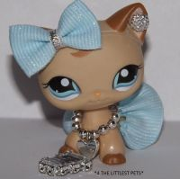 Littlest Pet Shop Clothes Lps accessories custom skirt bow ...