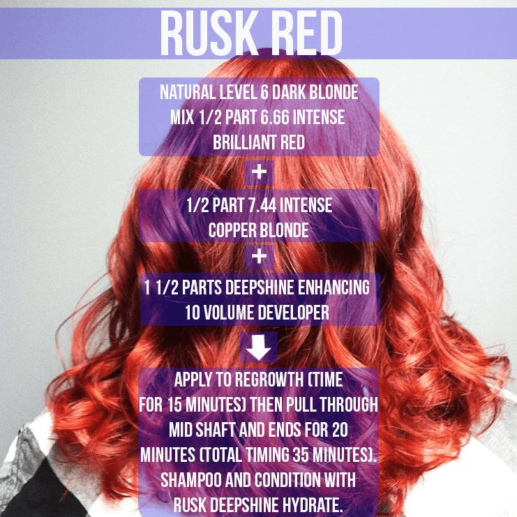 Rusk Deep Shine Hair Color
