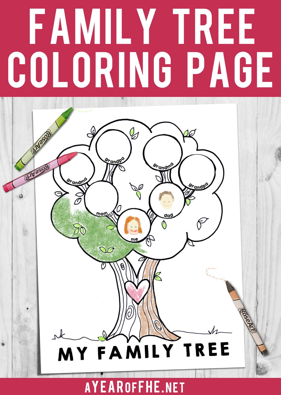 A Year Of Fhe Free Lds Coloring Page For Kids To Fill