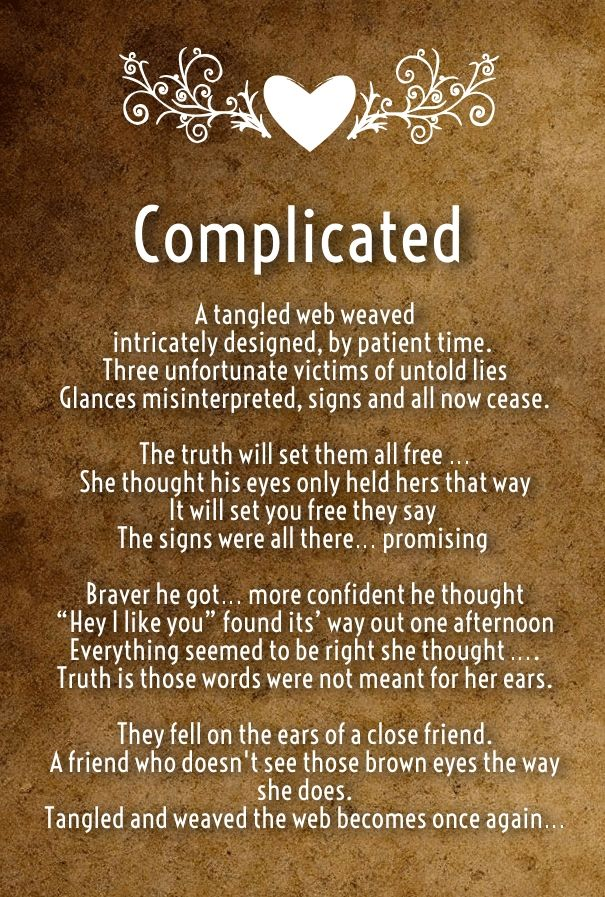 Some Good Complicated Love Poems Romantic Poems For Her