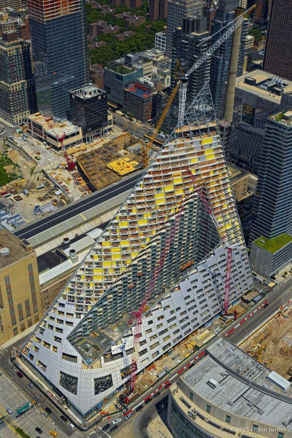 Stefenturner Bjarke Ingels Group 57 West Under Construction 625 57th Street In