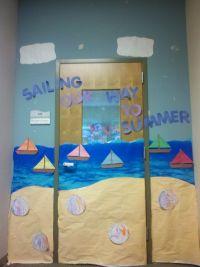 classroom door for summer | The EIBI | Pinterest ...